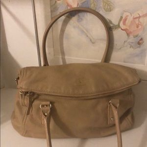 Kate Space Beige Satchel